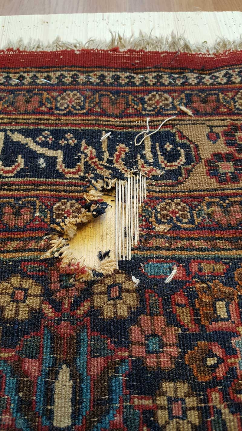 riparazione tappeti milano